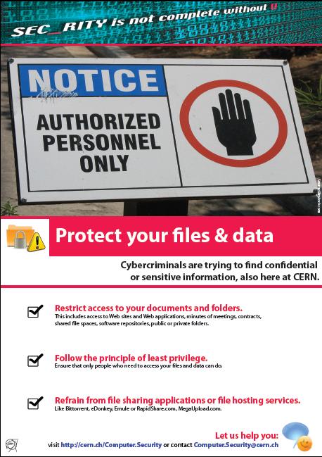 Cern Computer Security Information
